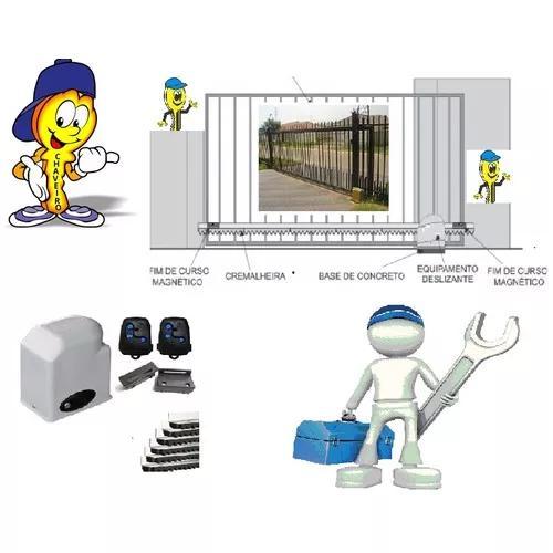 Manutenção ou venda de portões automático (motor)