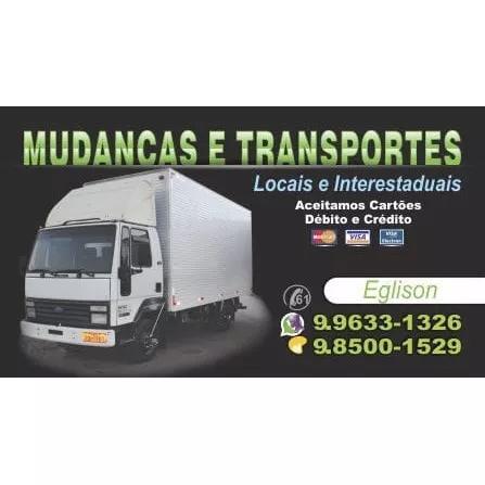 Mudanças e transporte