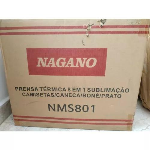 Prensa térmica nagano
