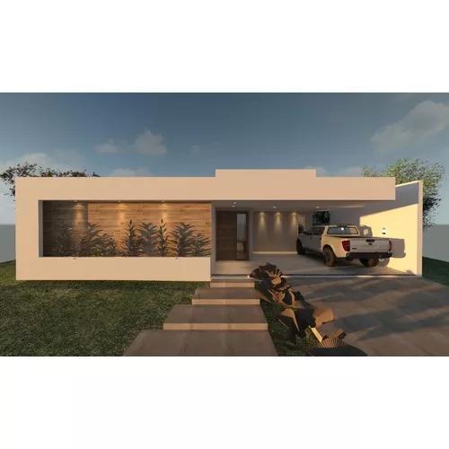 Projeto arquitetônico residência unifamiliar