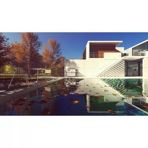 Projetos 3d renderizados - renderização externas e fachada