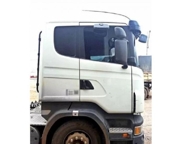 Scania g 440 2013 bitrem 6x4 branco