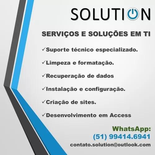Serviços E Soluções