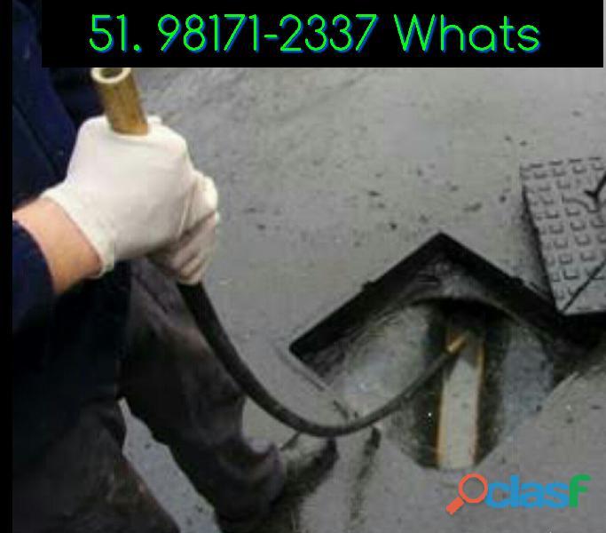 Desentupidora de esgoto   fácil e rápido   hidráulico 24hs