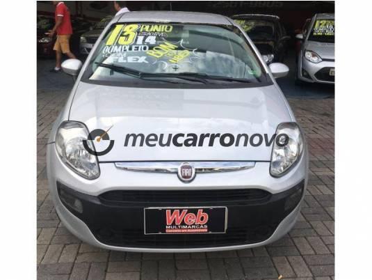 Fiat punto attractive 1.4 fire flex 8v 5p 2013/2013