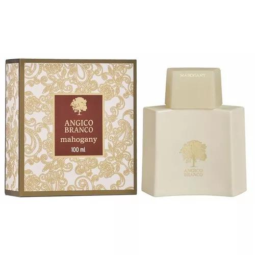 Fragrância desodorante mahogany angico branco 100 ml