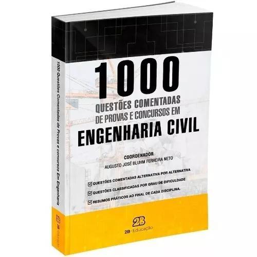 1000 questões comentadas de concursos