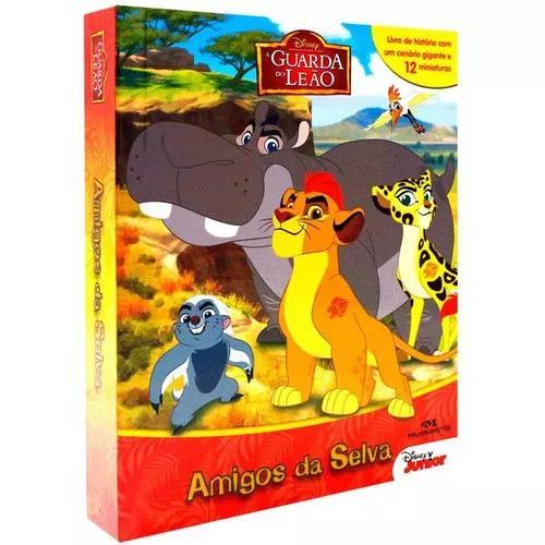 A guarda do leão - amigos da selva