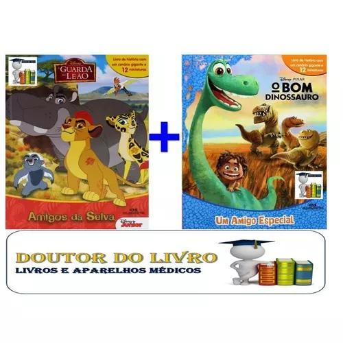 A guarda do leão + o bom dinossauro 12 personagens de cada