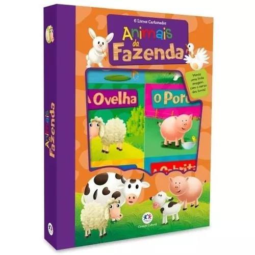 Animais da fazenda - 6 livros cartonados