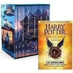 Box coleção harry potter + a criança amaldiçoada