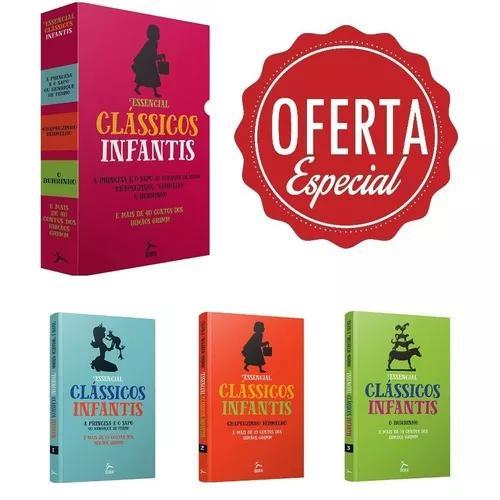 Box essencial clássicos infantis contos dos irmãos grimm