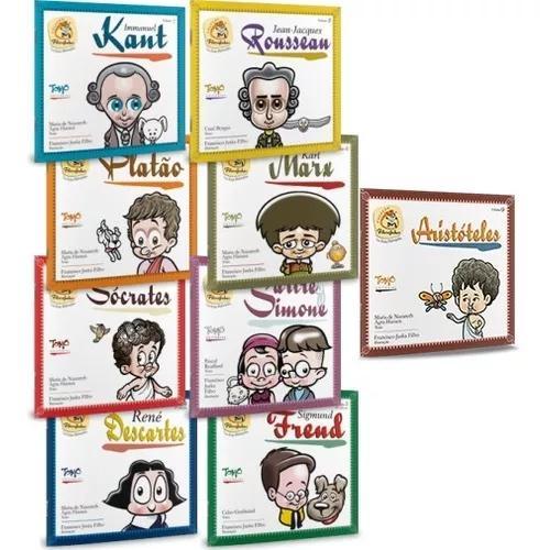 Coleção filosofinhos - 09 volumes