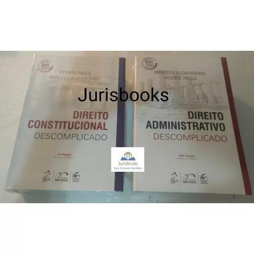 Direito Administrativo + Constitucional Descomplicado 2018