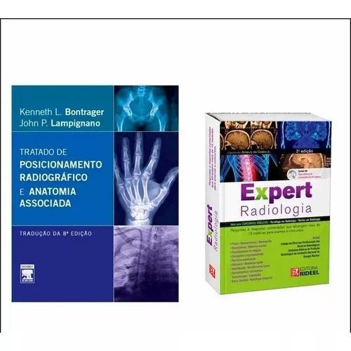 Expert de radiologia 2ª edição + tratado bontrager 8ªed