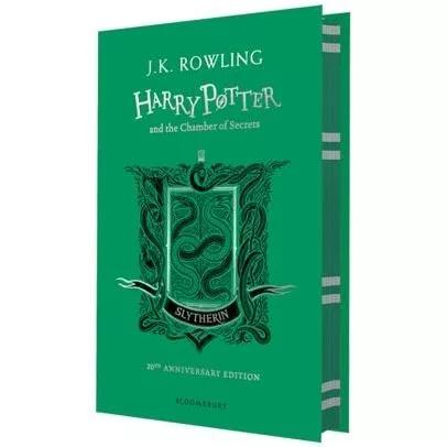 Harry potter and the chamber of secrets - slytherin hardcove