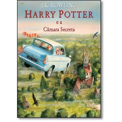Harry potter e a câmara secreta - edição ilustrada