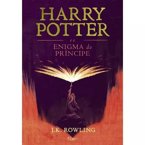 Harry potter e o enigma do príncipe - capa dura