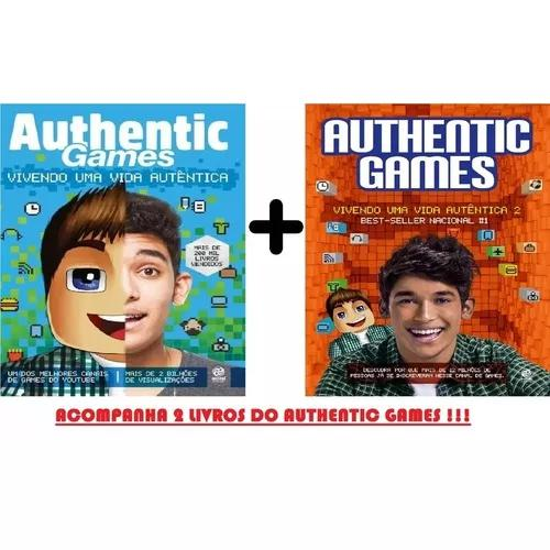 Kit authentic games - vivendo uma vida autêntica 1 & 2