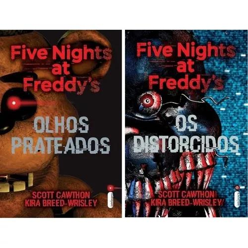 Kit five nights at freddys: os distorcidos/ olhos prateados