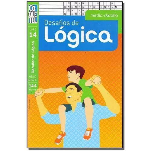 Livro - coquetel - desafios de logica - medio - livro 14