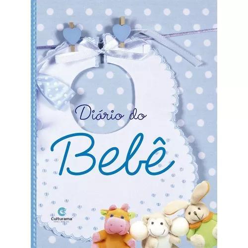Livro diario do bebe azul