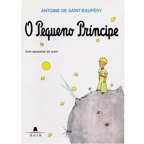 Livro o pequeno príncipe - 21 x 15 cm