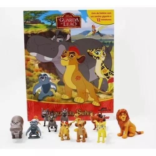 Livro rei leão guarda do leão amigos da selva 12