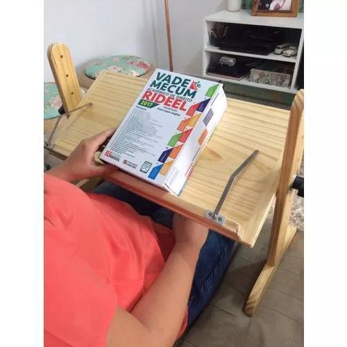 Suporte para leitura - livros - com prendedor de páginas
