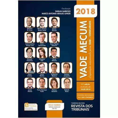 Vade mecum rt oab e concursos 11ª edição 2018.2