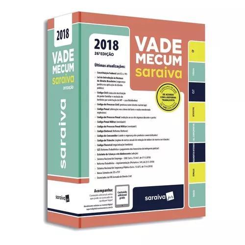 Vade mecum tradicional - 26ª ed. 2018