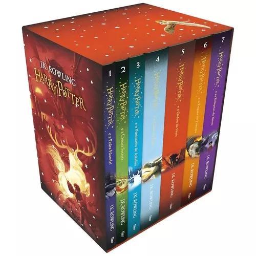 Box coleçao harry potter edição colecionador 7 livros