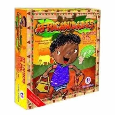 Coleção pedagógica africanidades inclusão social livros