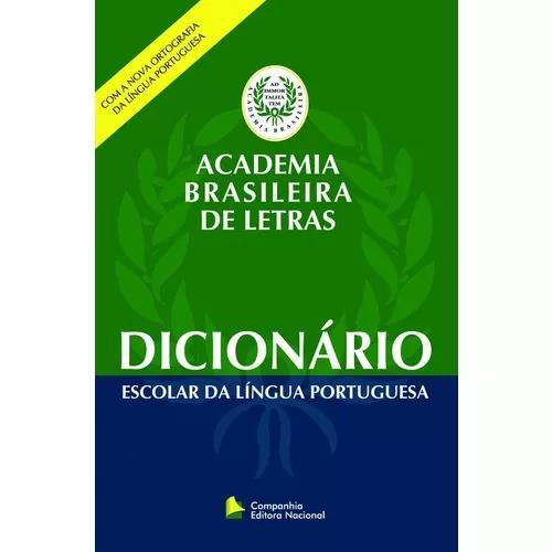 Dicionario escolar da l portuguesa