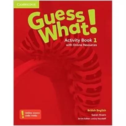 Guess what! 1 - activity book with online resources - britis