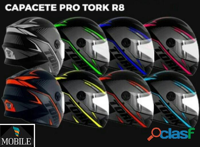 Capacetes pro tork r8