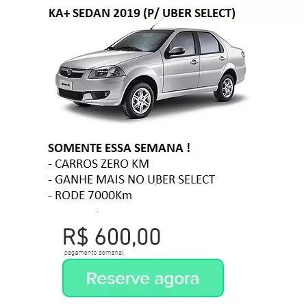 Aluguel De Veículos Para Uber, Carros Para Aplicativo Uber