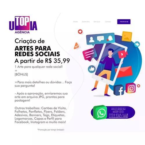 Artes digitais para redes sociais