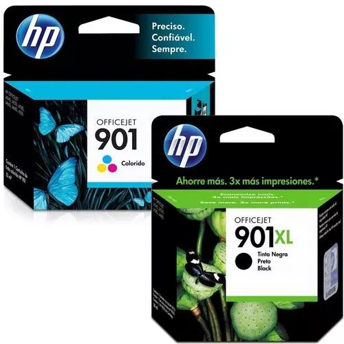 Cartucho De Tinta Hp 901xl Preto E 901 Color Original J4660