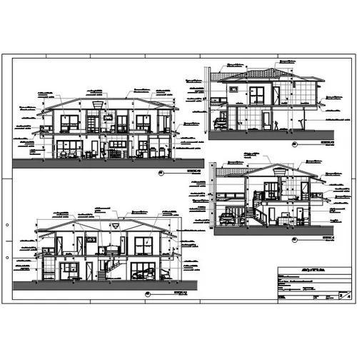 Denhos de arquitetura e engenharia