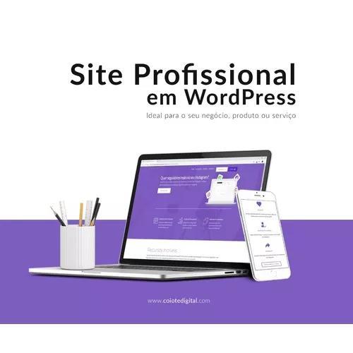 Desenvolvimento de website institucional profissional