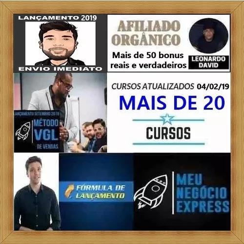 Mais De 20 Cursos Completos! Elias Maman, Tiago Fonseca E +