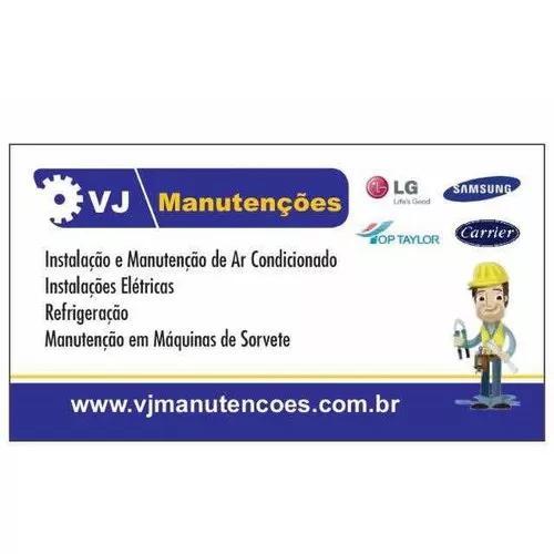 Manutenções elétrica, ar condicionado e máquinas de