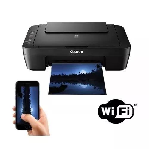 Multifuncional canon colorida mg3010 wireless wifi