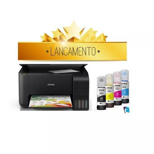 Nova impressora multif epson ecotank l3150 wi fi usb bivolt
