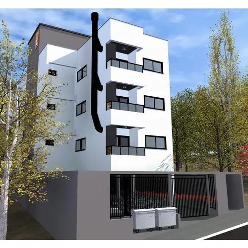 Projeto arquitetônico de prédio residencial