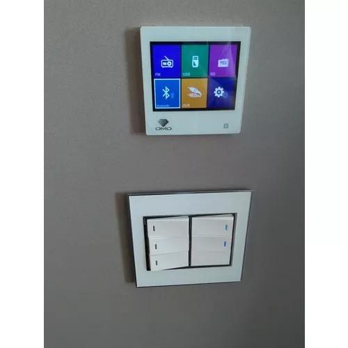 Servicos de audio e video, cameras, rede wifi e iluminacao