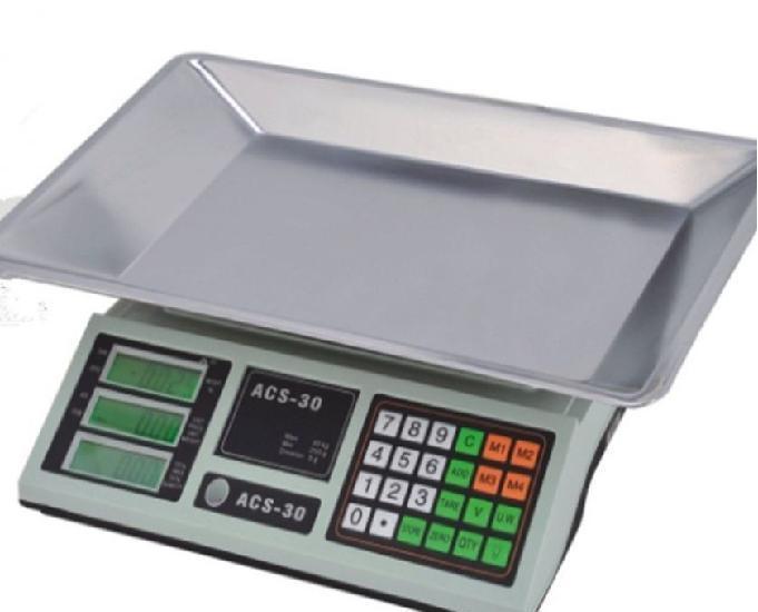 Balança digital 40kg com bateria-entregamos em domicílio