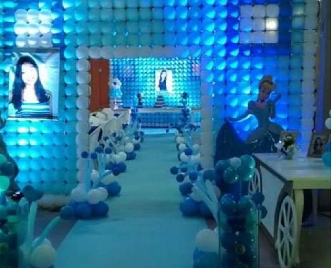 Cursos de decoração e balão