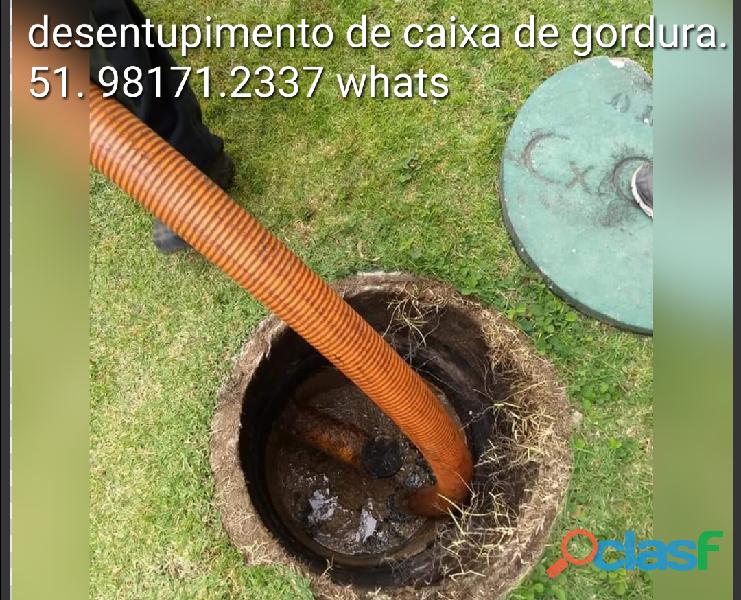 Desentupidora vasos sanitários distrito indústrial cachoeirinha